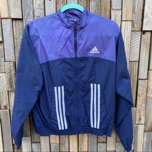 Adidas vintage retro track jogger jacket m…